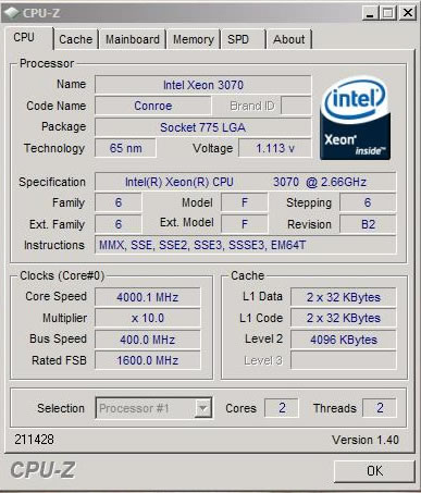 4000MHz stable