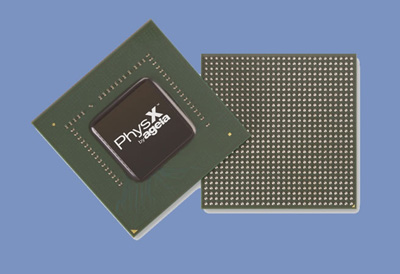 ageia physx chip