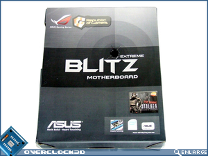 Asus Blitz Extreme Packaging