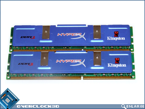 Kingston HyperX PC3-11000 Back
