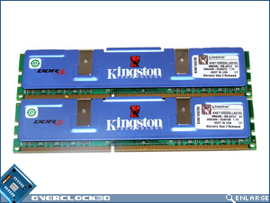 Kingston HyperX PC3-11000 Front