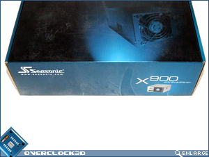 Seasonic X900 Packaging