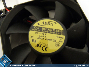 Seasonic X900 Fan