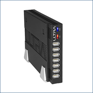Ultra Stackable 7-port USB hub