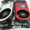 "8800GTS shootout - XFX 8800GTS XXX vs Gainward 8800GTS ""Golden Sample"""