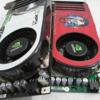 "8800GTS shootout - XFX 8800GTS XXX vs Gainward 8800GTS ""Golden Sample"""