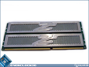 OCZ Platinum PC3-12800 Back