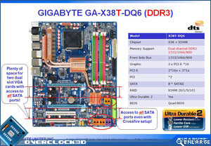 X38 DDR3 motherboard