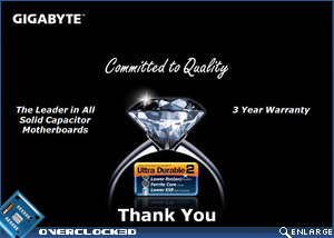 Gigabyte's committment to quality