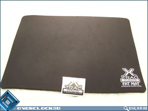 XTracPads Fat Mat with sticker