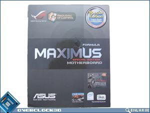 Asus Maximus Formula Box Front