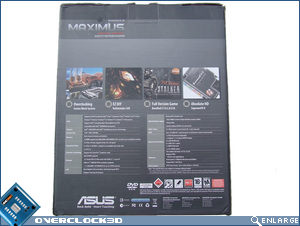 Asus Maximus Formula Box Back