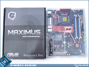 Asus Maximus Formula Box Open