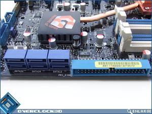 Asus Maximus Formula SATA / IDE connectors