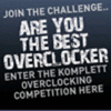 Overclock3D & Komplett's Best Overclocker Competition WINNER!
