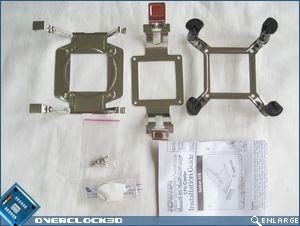 Scythe Kama Cross mouning hardware