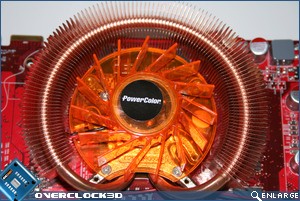 powercolor hd3850 cooler close