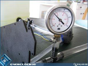Pressure drop testing