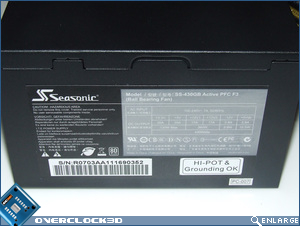 Seasonic S12-II 430w Side