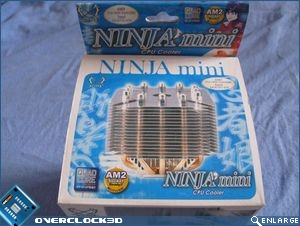 Scythe Ninja mini top of box