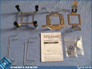 Scythe Ninja Mini accessories