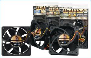 Scythe Ultra Kaze 120mm Fans