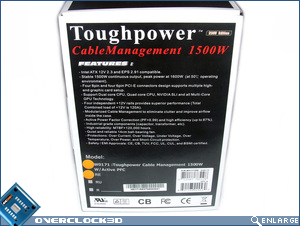 Thermaltake Toughpower 1500w Box Side