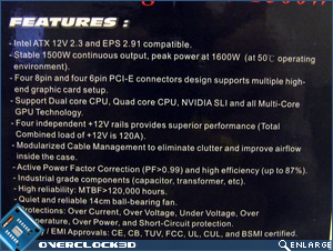 Thermaltake Toughpower 1500w Features