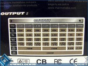 Thermaltake Toughpower 1500w Output