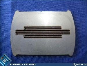 Laser cut plate