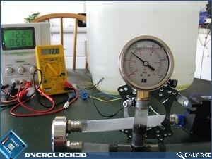 XSPC X2O Delta pressure drop