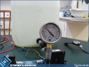 D-TEK FuZion pressure test