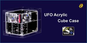 Sunbeamtech UFO Acrylic Cube case