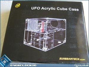 Cube packaging front