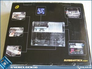 Cube packaging rear