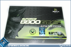 xfx 8800 gts packaging