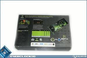 xfx 8800 gts 512 packaging rear