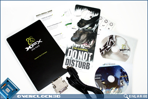 xfx 8800gts package