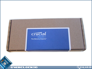 Crucial Ballistix PC3-12800 Packaging