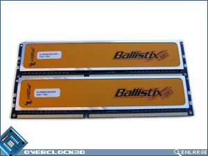Crucial Ballistix PC3-12800 Front