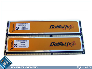 Crucial Ballistix PC3-12800 Back