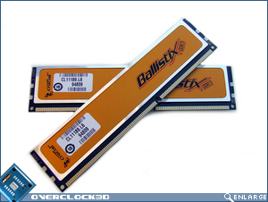 Crucial Ballistix PC3-12800 Crossed