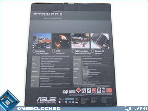 Asus Striker II Formula Box Back