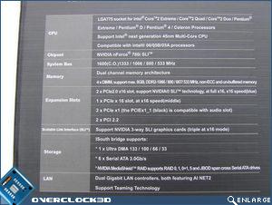 Asus Striker II Formula Box Specs