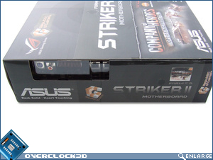 Asus Striker II Formula Box Side