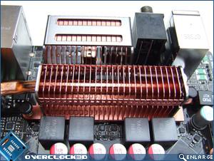 Asus Striker II Formula CPU Area