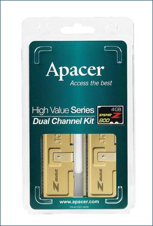 Apacer 4GB DDR2-800 Modules