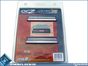 OCZ ReaperX PC2-6400 Packaging Back