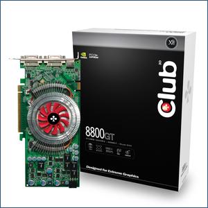 Club 3D 8800 GT 512MB