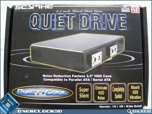 Quiet Drive packaging front